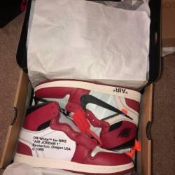 Jordan 1 offwhite