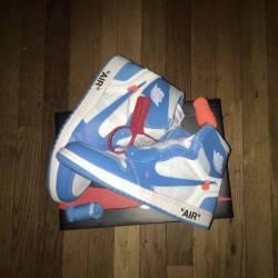 Nike off white unc air jordan 1