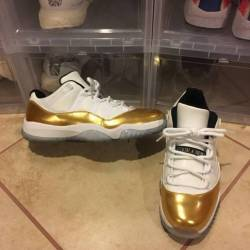Jordan 11 low closing ceremony...