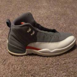 100 00 Jordan 12 Cool Grey