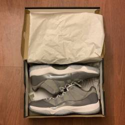 Air jordan 11 low cool grey si...