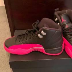 Air jordan 12 gs deadly pink