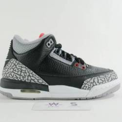 "Air jordan 3 retro og bg ""blac..."