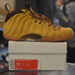 Nike foamposite wheat