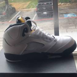 Air jordan 5 gs olympic (gold ...
