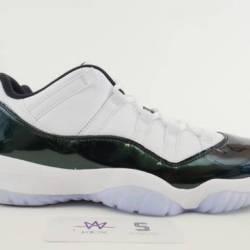 Air jordan 11 retro low emerald