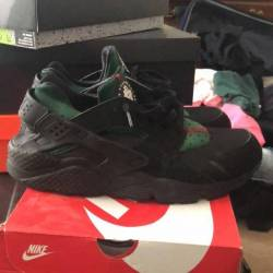 Triple black huaraches gucci c...