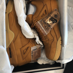 Air jordan 4 premium ginger wheat