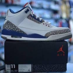 Jordan 3 true blue men's siz...
