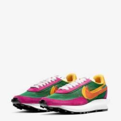 Nike ld waffle x sacai pine gr...
