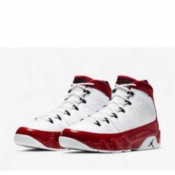 Air jordan 9 retro gym red whi...