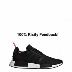 Adidas nmd r1 core black solar...