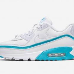 Air max 90 undefeated white/bl...