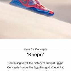 Concepts x nike kyrie 6 khepri