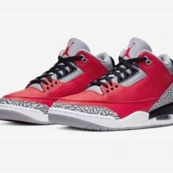 Nike air jordan 3 se fire red ...