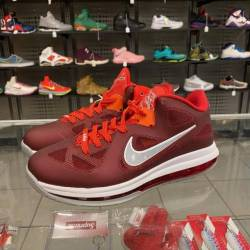 Nike lebron iv 9 low sz 8 red ...