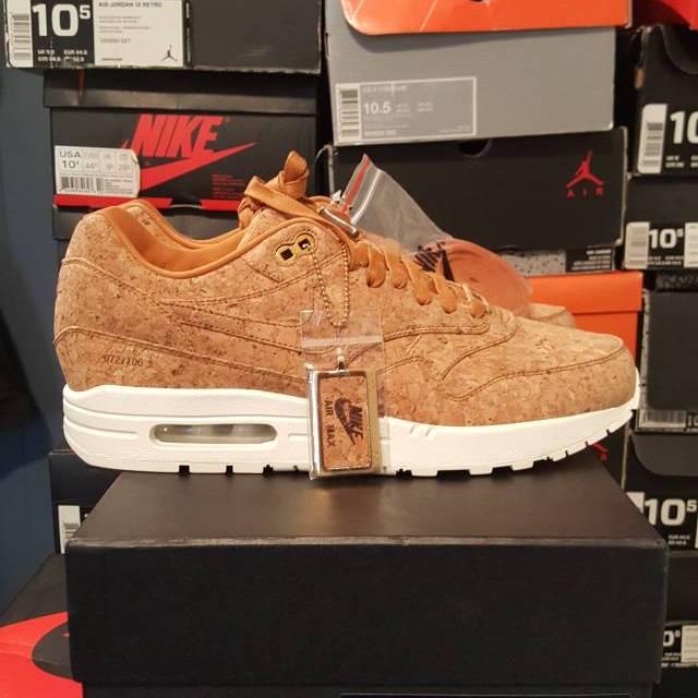 Nike air max 1 premium cork nyc Soho exclusive sz 10  72 10  165b2ef9a