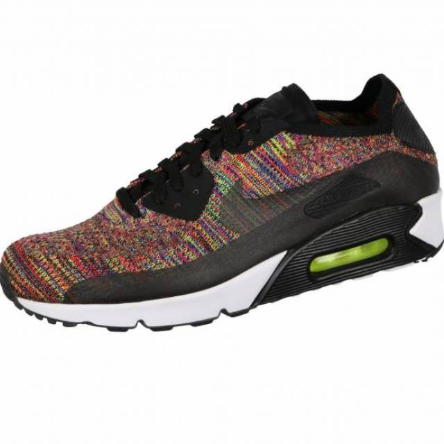 Nike Air Max 90 Ultra 2.0 Flyknit Running Multicolor Mens Size 10.5 875943-002