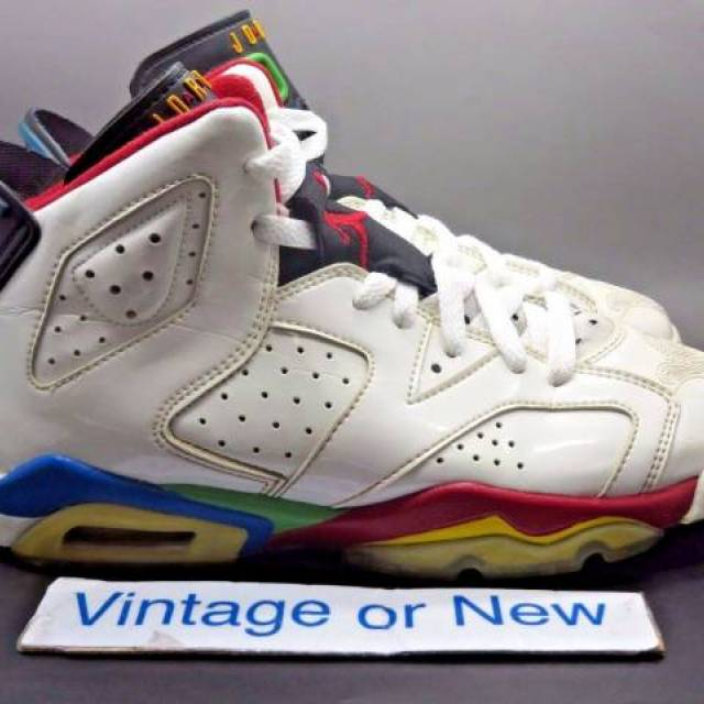 Nike Air Jordan VI 6 Olympic Beijing