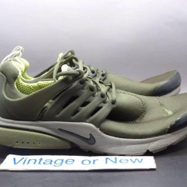 VTG OG Nike Air Presto Olive Green Volt