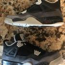 AIR JORDAN RETRO 4 FEAR MENS SZ 14 BRED OG CEMENT TORO OREO