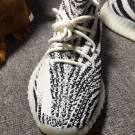 adidas Yeezy Boost 350 V2 Zebra CP9654 Size 10 US BRAND NEW