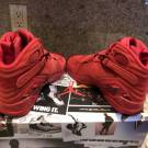 Womens Air Jordan 8 Valentine's Day 7.5, 8 Yeezy Cement Dunk
