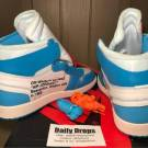 Off-White Nike Jordan Retro 1 UNC The Ten