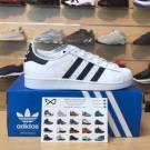 """Kids Adidas Superstar J (GS) """"White Black"""""""