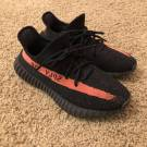 adidas Yeezy Boost 350 V2 Core Black Red