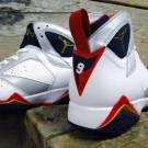Air Jordan Original – OG 7 (VII) Olympic White / Mid Nvy / R